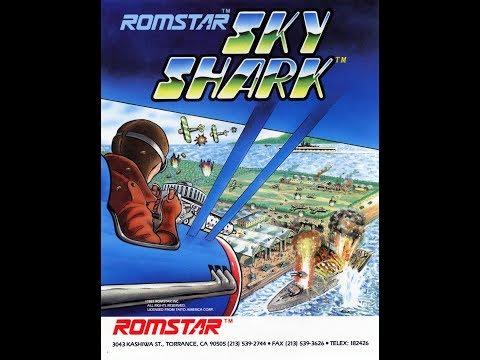 Sky Shark US Romstar - Arcade Live - 1CC - (1 Loop)