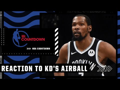 Ros Gold-Onwude on KD's airball on final shot in Game 7: It showed he was human | Hoop Streams