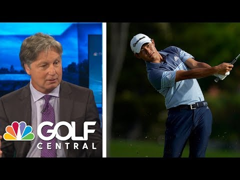 Collin Morikawa leads, Justin Thomas struggles in Sony Open Round 1 | Golf Central | Golf Channel