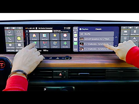 Honda e (2020) Five Screen Dashboard!!! DEMONSTRATION