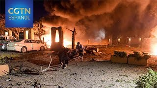 La explosión de una bomba en el aparcamiento de un hotel de Pakistán deja al menos 4 fallecidos