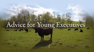 transcript for Advice for Young Executives
