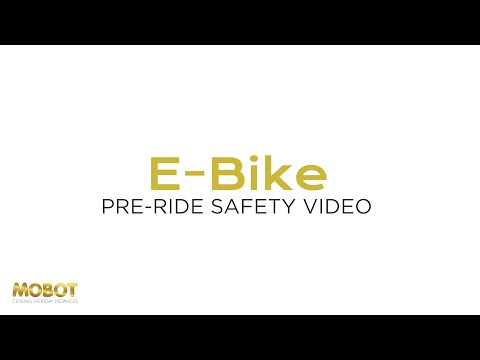 Electric bicycle / ebike / PAB Safety Video   Watch this before riding   MOBOT Singapore