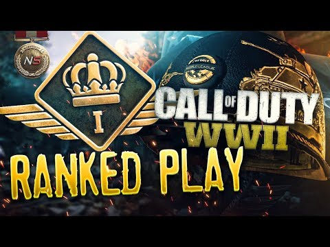 Call of Duty:WW2 Ranked Play, My Final Placement Match!