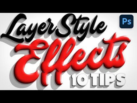 10 TIPS for Awesome Layer Style Effects in Photoshop!