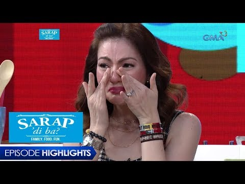 Sarap, 'Di Ba?: Carmina Villarroel gets emotional | Episode 12