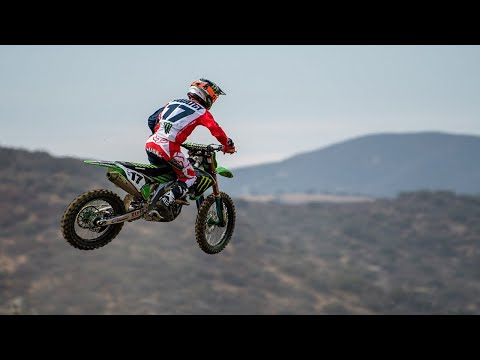 First Laps | Joey Savatgy on his Monster Energy Kawasaki KX450