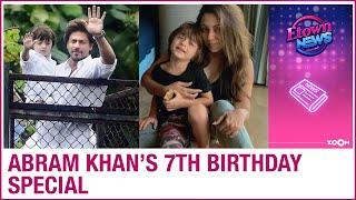 Happy Birthday AbRam Khan: Shah Rukh Khan and Gauri Khan's son's INTERESTING stories - ZOOMDEKHO