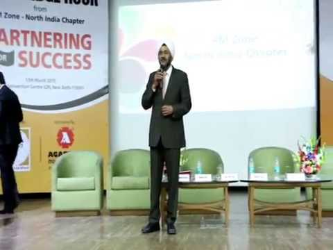 Mr. R. S. Kalsi at Conference Meet, 'Knowledge Hour', sponsored by Agarwal Packers and Movers Ltd.