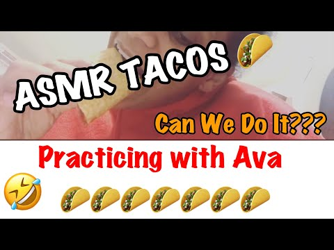 ASMR TACOS 🌮 | Listen To The Crunch 🌮🌮🌮