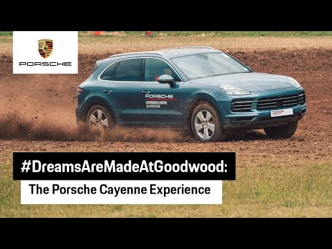 Porsche Cayenne Experience at Goodwood Festival of Speed