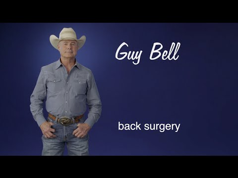 Guy Bell: Baylor Scott & White Health was my second opinion but first choice for spine surgery.