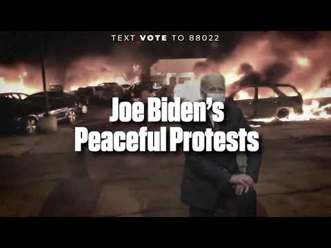 Joe Biden will NEVER stand up to the Liberal Mob.