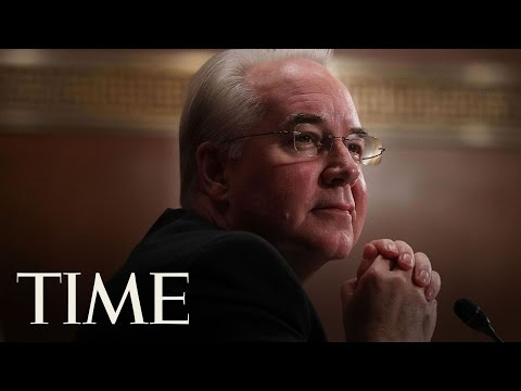 Representative Tom Price Faces Senate Confirmation Hearing   TIME