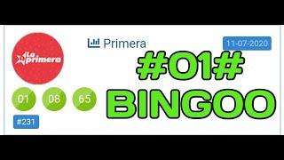 BINGOOOO CON EL 01 EN LA PRIMERA..!!!