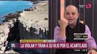 Santa Cruz: La violan y tiran a su hijo por el acantilado