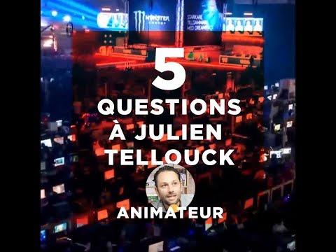 5 questions à Julien Tellouck - Animateur TV