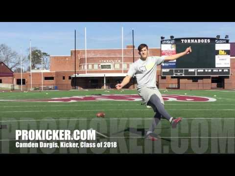 Camden Dargis, Ray Guy Prokicker.com Kicker, Class of 2018