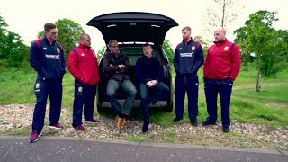 Tracking the Lions: Martin Johnson and Brian O'Driscoll