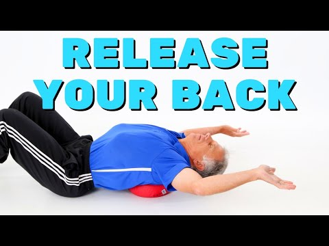 How to Release Your Back Between the Shoulder Blades (Using Stuff At Home)