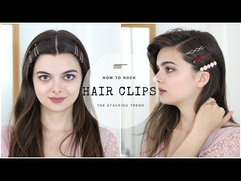 How To Rock The Hair Clip Trend