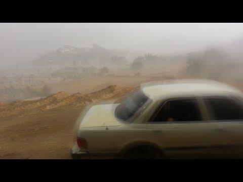 رياح وأمطار يوم السبت 06\08\1434 هـ على وادي نيرا