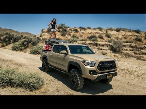 Jillian Rebekah Tacoma TRD Shortbed Rig Walk Around Part 2