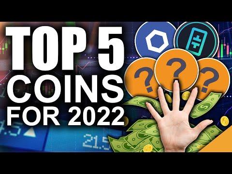 TOP 5 Crypto Coins for 2022 (EARLIEST Altcoin Predictions!)