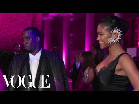 "Sean ""Diddy"" Combs and Cassie on Bringing Drama to the Met Gala 