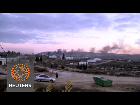 Israeli settlers hunker down in the face of eviction from West Bank outpost