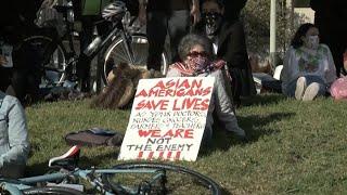 Oakland, San Francisco residents unite against anti-Asian hate crimes