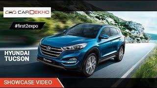 #first2expo : Hyundai Tucson | Showcase Video | CarDekho@AutoExpo2016