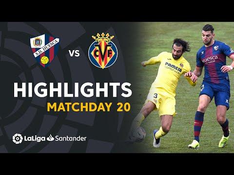 Highlights SD Huesca vs Villarreal CF (0-0)