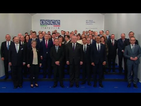 OSCE members pose for family photo in Milan