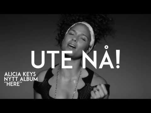 ALCIA KEYS  - HERE album ad