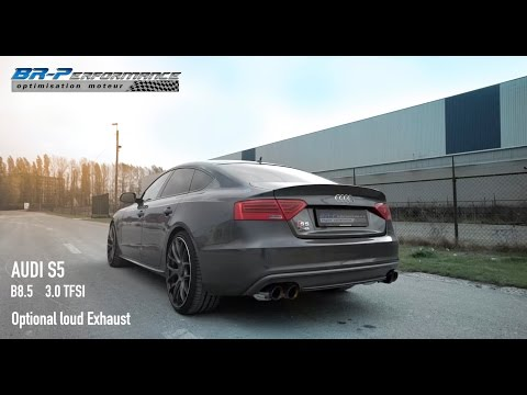 Audi S5 3.0 TFSi BRP + Loud Exhaust By BR-Performance