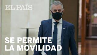 #CORONAVIRUS | EUSKADI levanta el CONFINAMIENTO MUNICIPAL a partir del martes