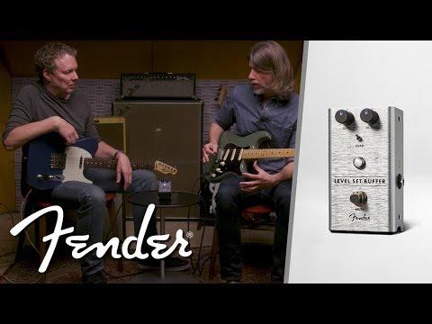 The Level Set Buffer | Effect Pedals | Fender