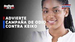 Rosángella Barbarán advierte campaña de odio en contra de Keiko Fujimori en redes sociales