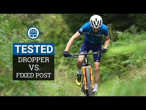 Dropper Post Vs. Fixed Post - Which Is Fastest For XC""