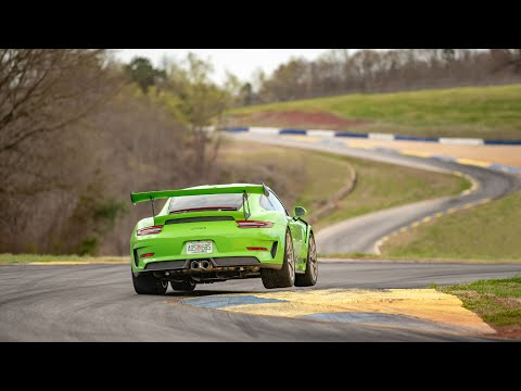 Onboard video of the 911 GT3 RS at the Michelin Raceway Road Atlanta