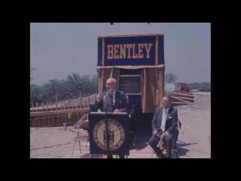 Bentley Campus Exhibit: Construction & Lindsay Hall Dedication