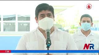 Alvarado recomienda a ticos que viajan a EE.UU. aprovechar de vacunarse contra la Covid 19