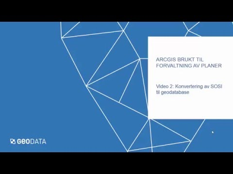 ArcGIS brukt til forvaltning av planer - 2
