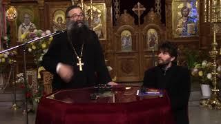 Conferinta parintelui Nicolae Tanase la Biserica Serban Voda (10.12.2017)
