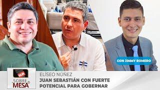 """Elíseo Núñez """" Yo veo a Juan Sebastián con un fuerte potencial para gobernar Nicaragua"""""""