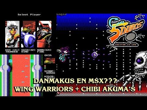 DIRECTO: WING WARRIORS + CHIBI AKUMA'S (DANMAKUS EN MSX???)