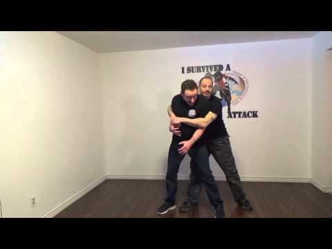 Self Defense Against Bear Hugs