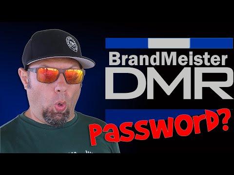 Setting a Password for Brandmeister DMR Servers | Ham Radio DMR