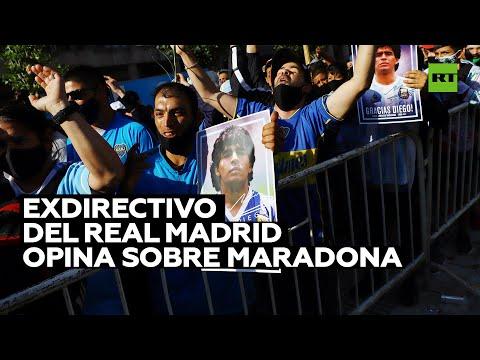 Exdirectivo del Real Madrid opina sobre Maradona